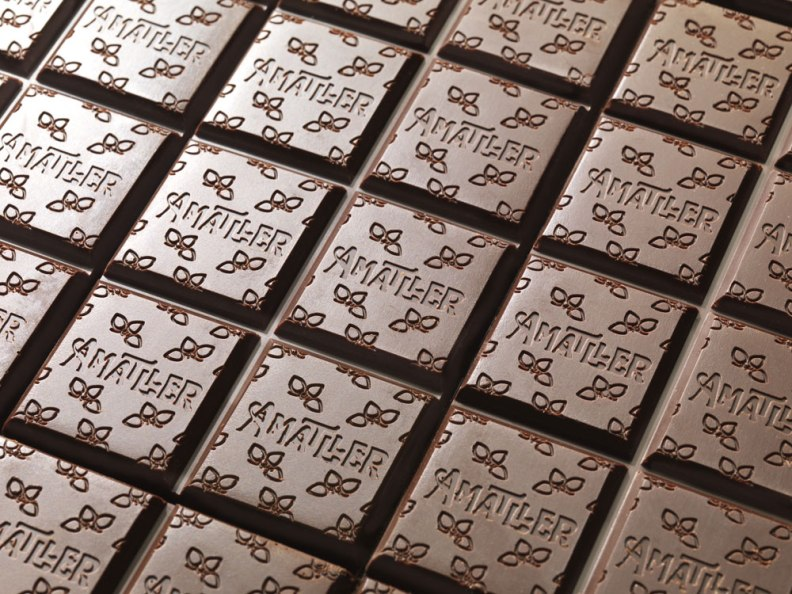The Pattern of Chocolate Amatller, foto credit Amatller
