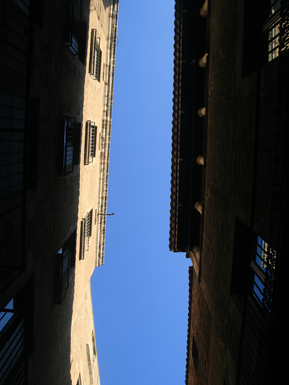 Montcada Street - the Skyline