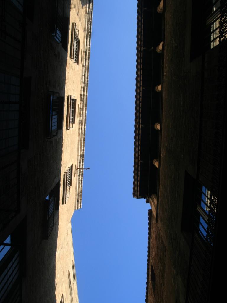 Montcada Street - the Skyline