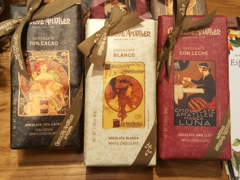 Chocolate Bars Packaging Design