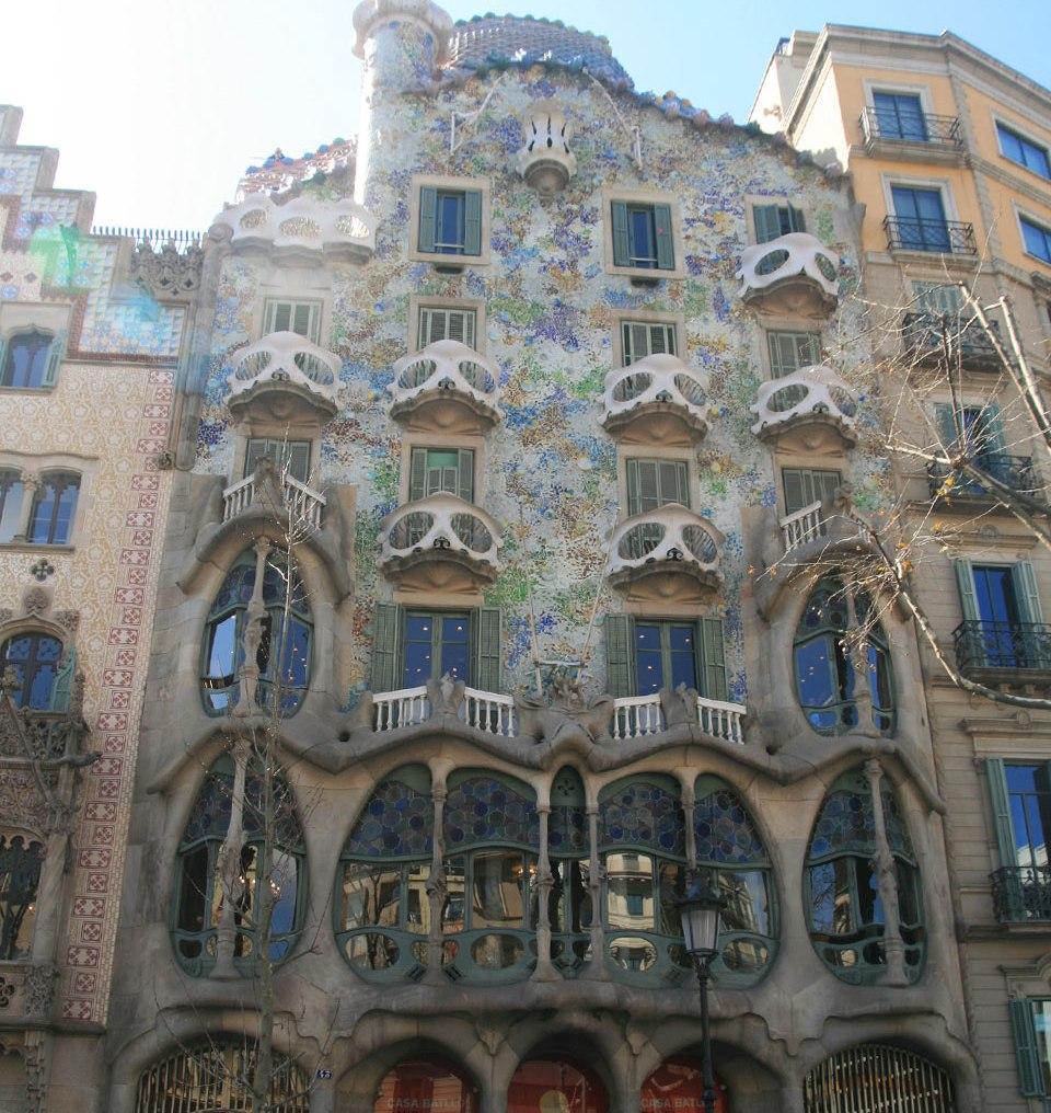 Casa Batlló - the Facade
