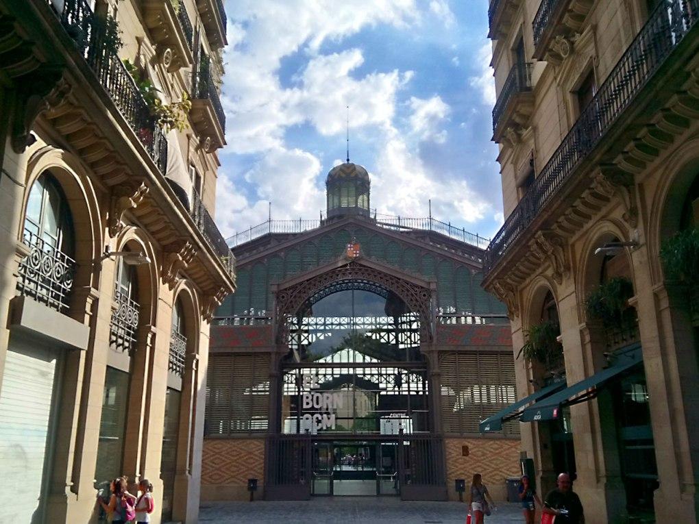 El Born CCM as seen from Passeig de Picasso