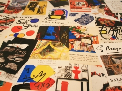 Bright Colors and Shapes of the Posters