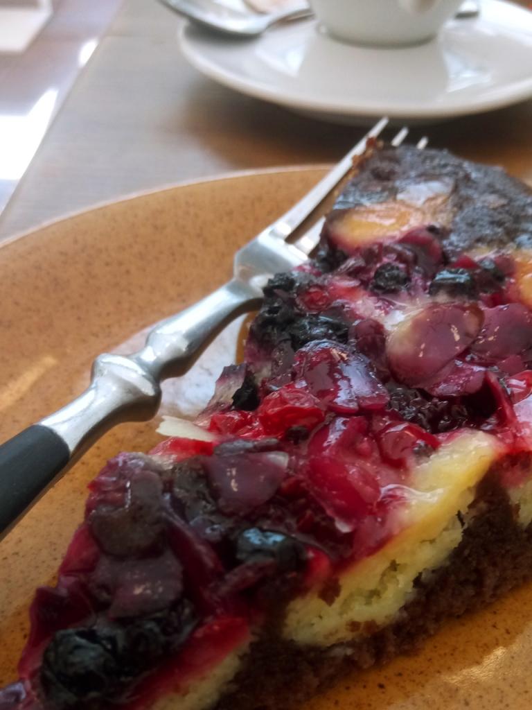 Sweet Treat at Cafe Ena