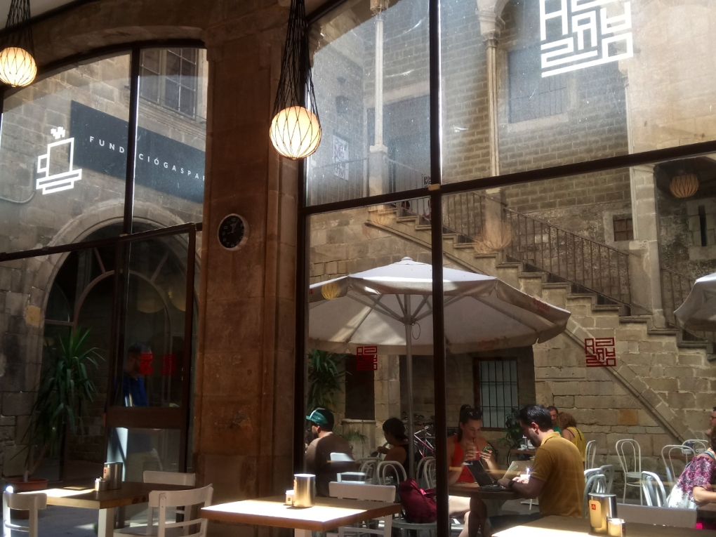 Cafe Ena - A view From Inside
