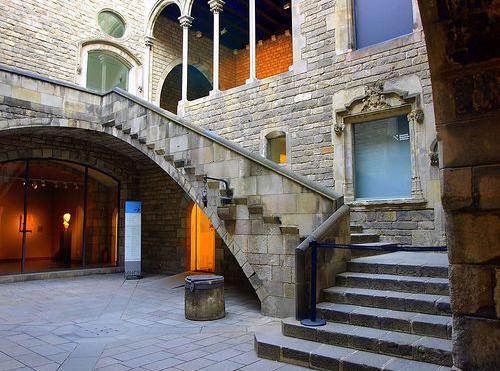 Museu Picasso - the Interior Patio