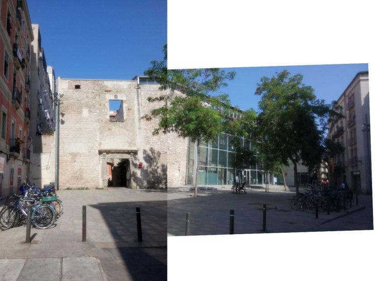 Bar del convent - the entrance