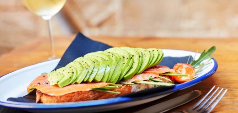 Sandwich at Café Ena