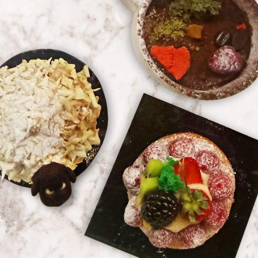 Ovella, Fruit Tart and Tiramisu