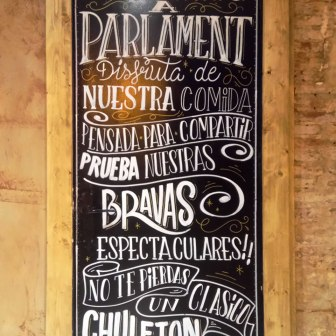 Parlament: Some of the Chef's Suggestions