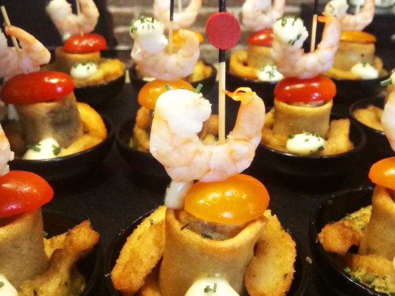 Seafood Pintxo