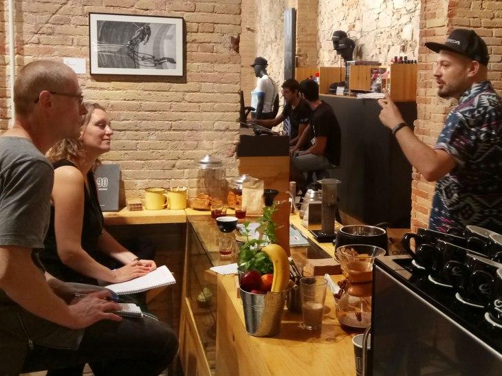 Coffee Training: Writing Down the Steps