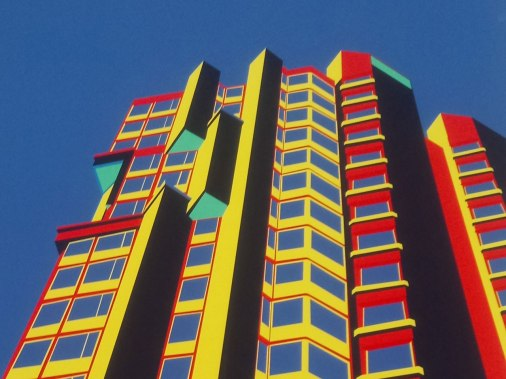 The Urqiunaona Towers are part of a series of graphic designs of Santiago Restrepo Arias.