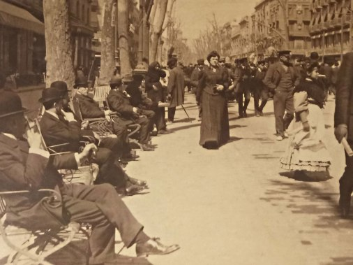La Rambla 1907 - 1908, a selection of 74 photographs from the exhibition that features La Rambla and the figures that give the street its colourful character. Photographer Frederic Ballell (1864-1951), one of the main first-generation exponents of photojournalism, captures in this series of photos the daily life of one of Barcelona's main thoroughfares at the turn of the century. Rafel Torrella (Photography), Marta Delclós (Text)