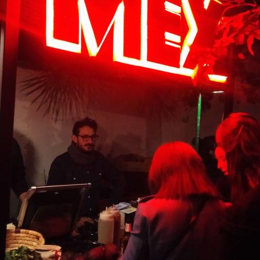 poblenou opennight laplataforma art gallery - mex popup bar