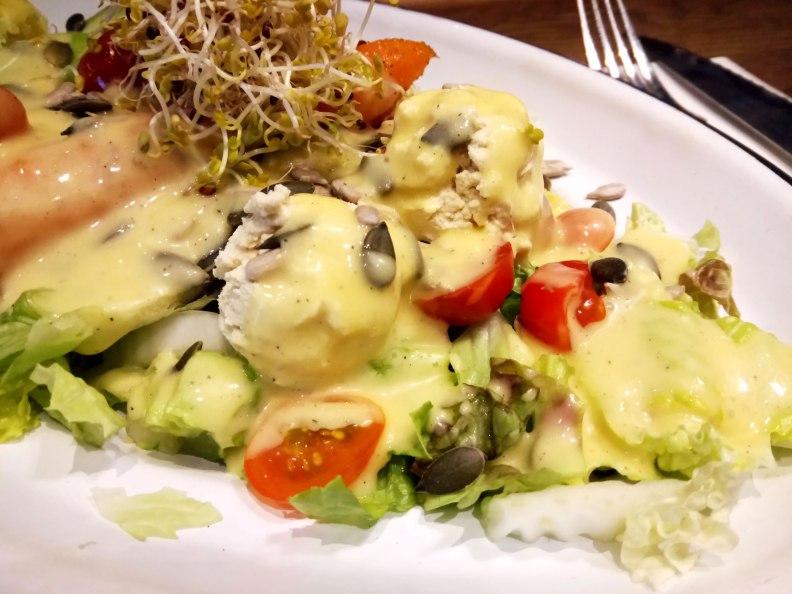Teresa's Stairway flexitarian salad bar