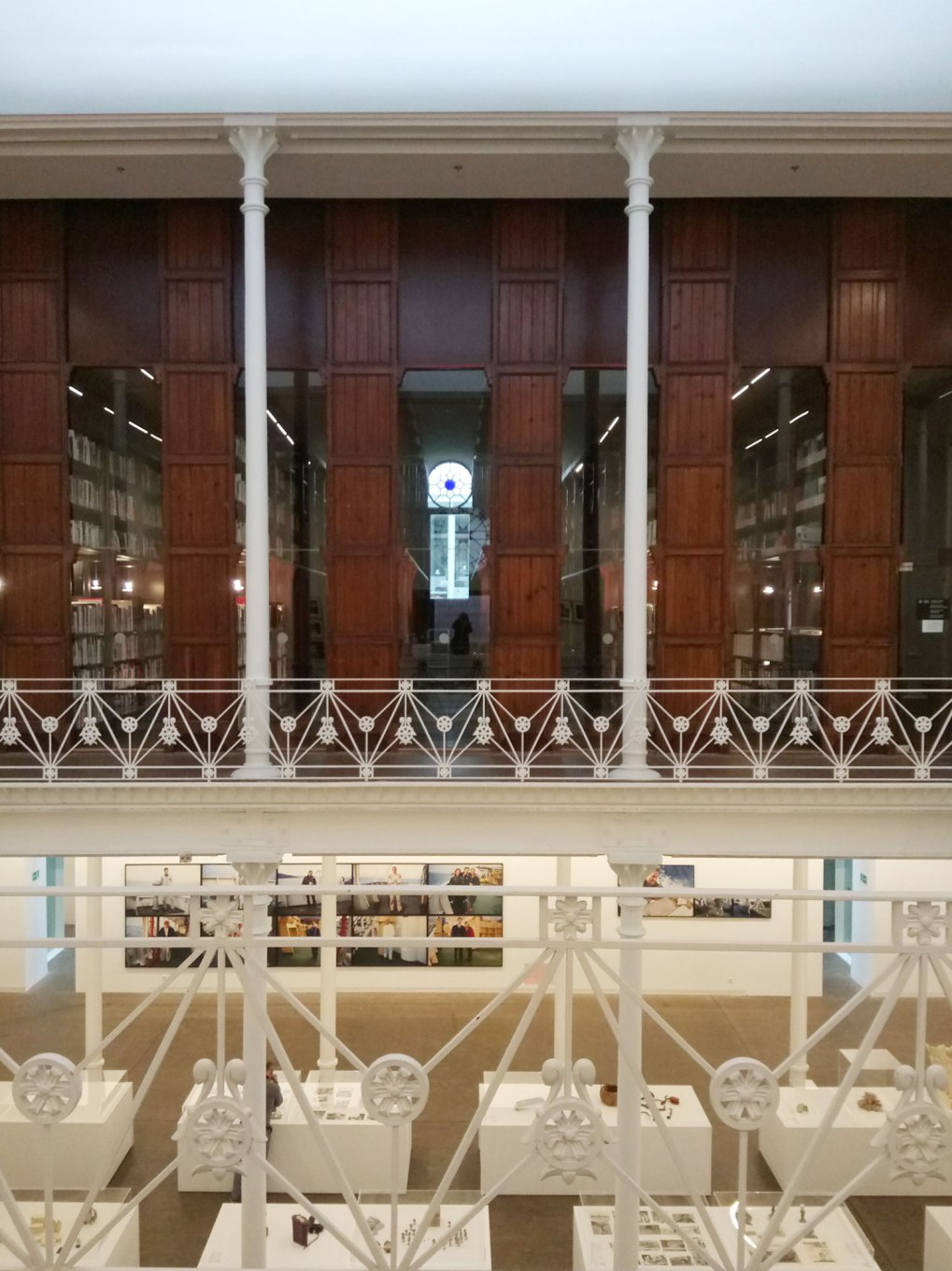 tapies-foundation-thetasteofbarcelona-1st-floor-library-view
