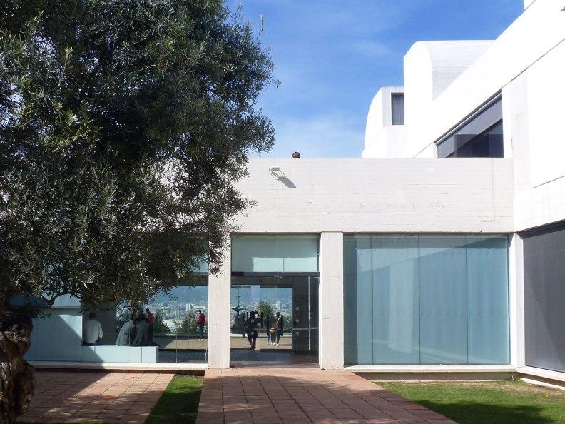 Joan Miro Foundation interior patio