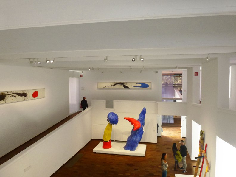 Joan Miro Foundation interior