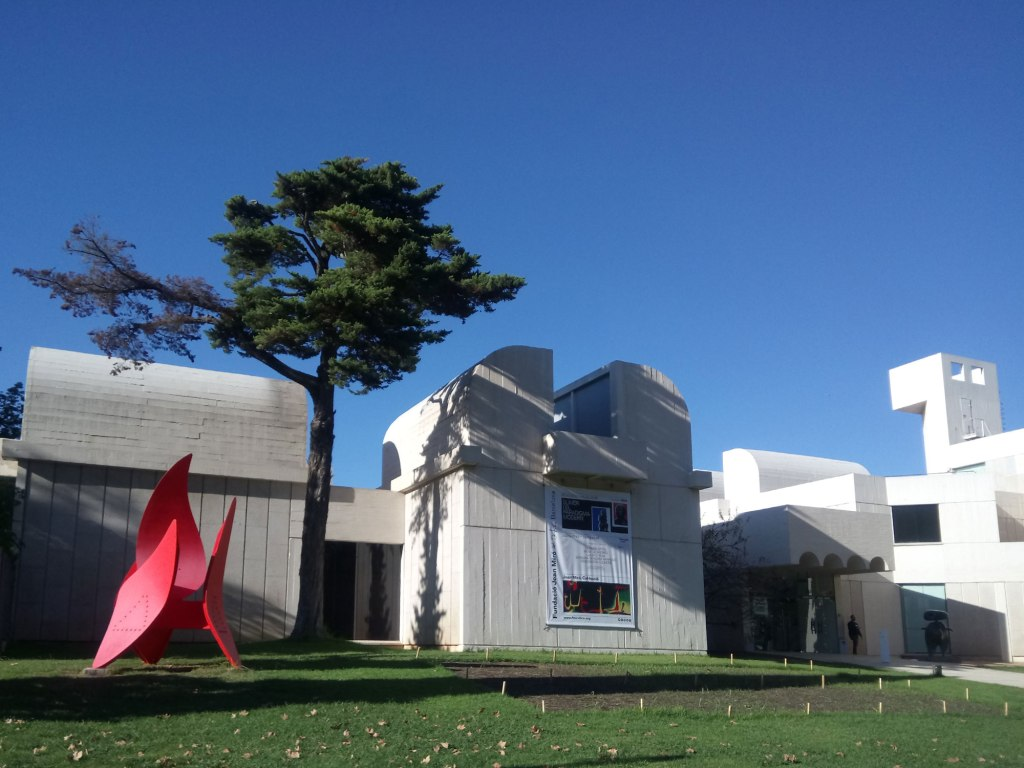 Joan Miro Foundation entrance
