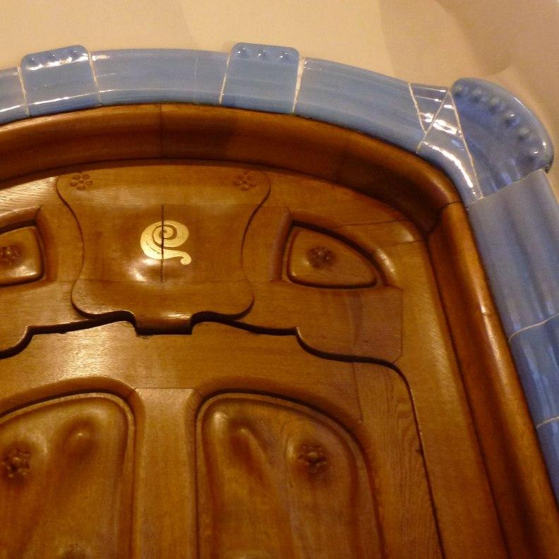 Casa Batlló door detail
