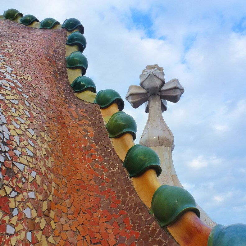 Casa Batlló rooftop dragon