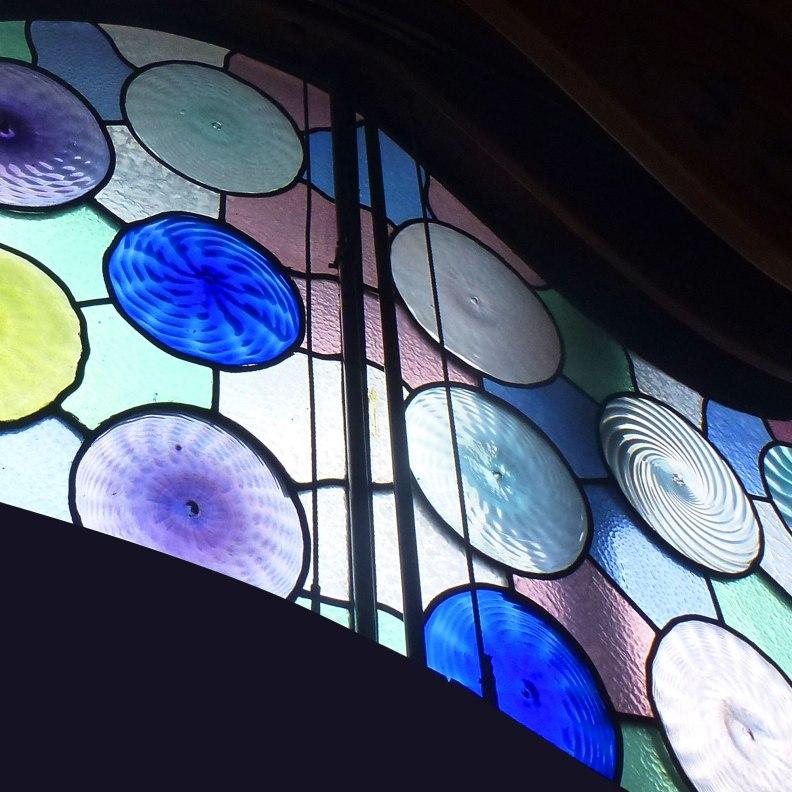 Casa Batlló glass detail