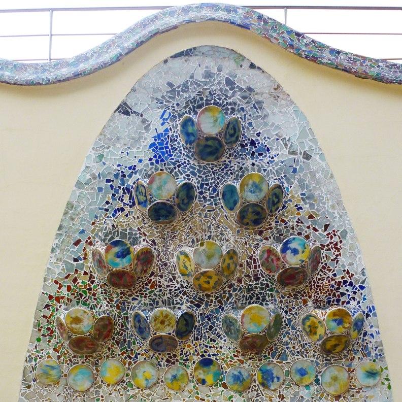 Casa Batlló ceramic wall