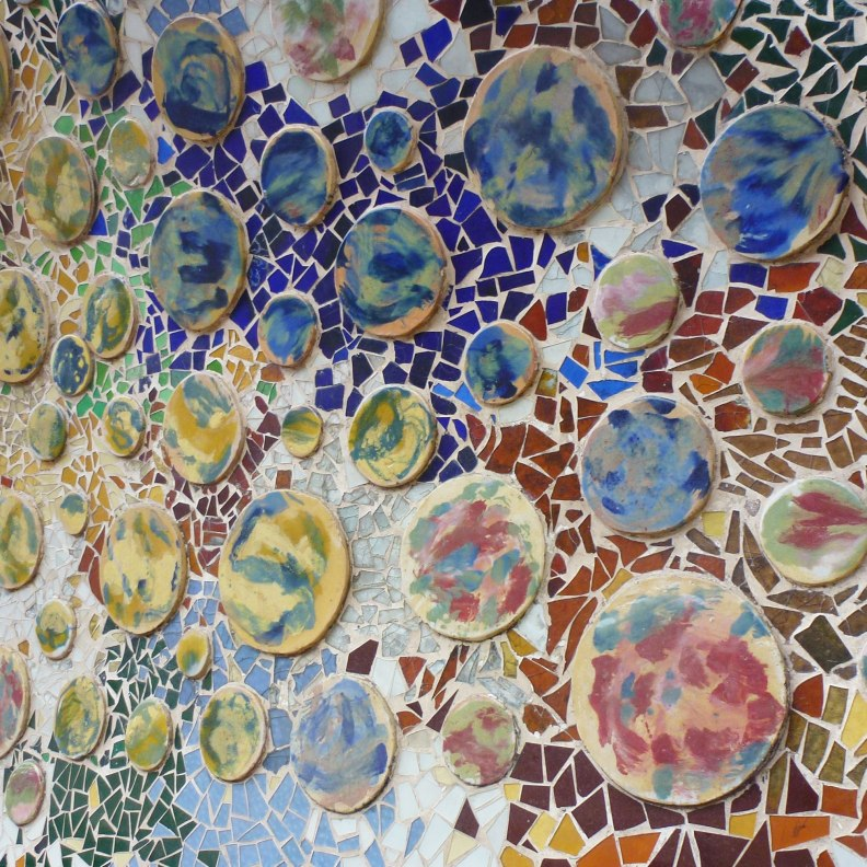 Casa Batlló ceramic detail