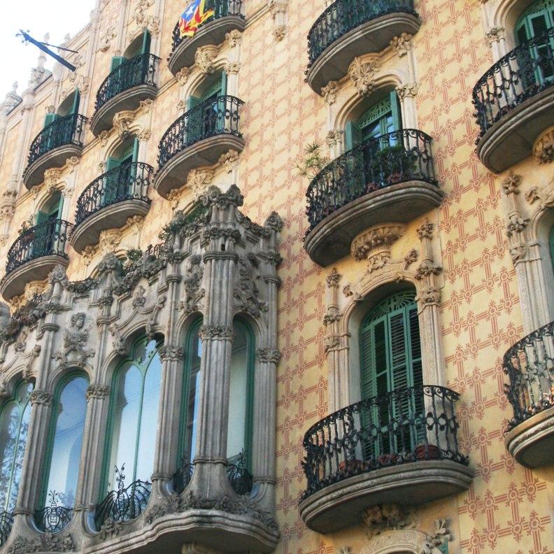 Casa Ramos Modernist elements