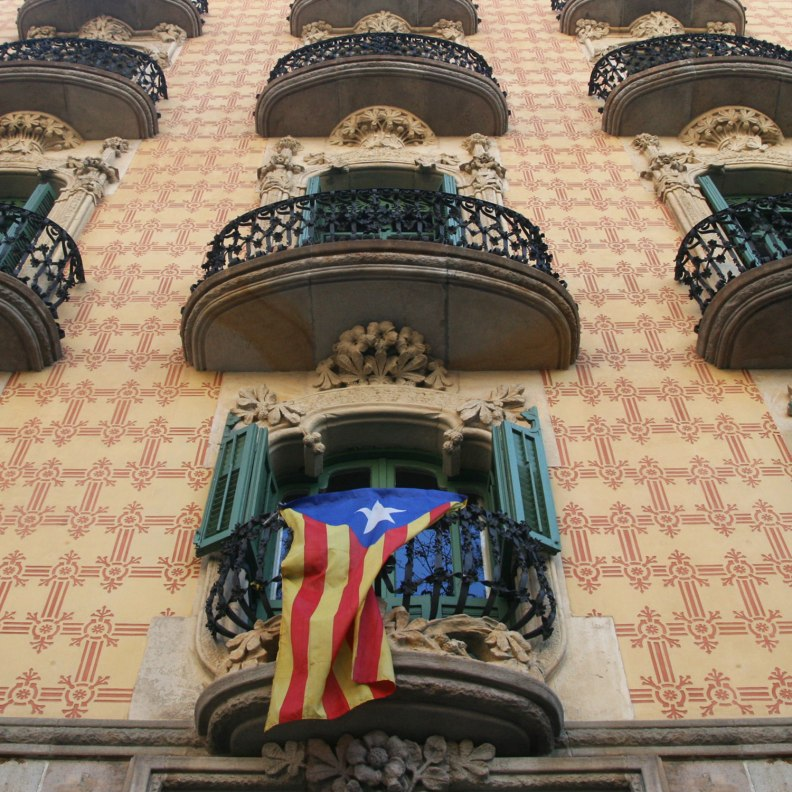 Casa Ramos balconies and sgraffito design closeup
