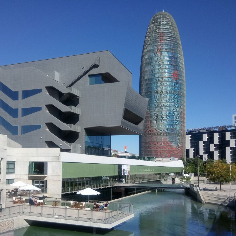Jean Nouvel Torre Agbar and MBM arquitectos Design Museum
