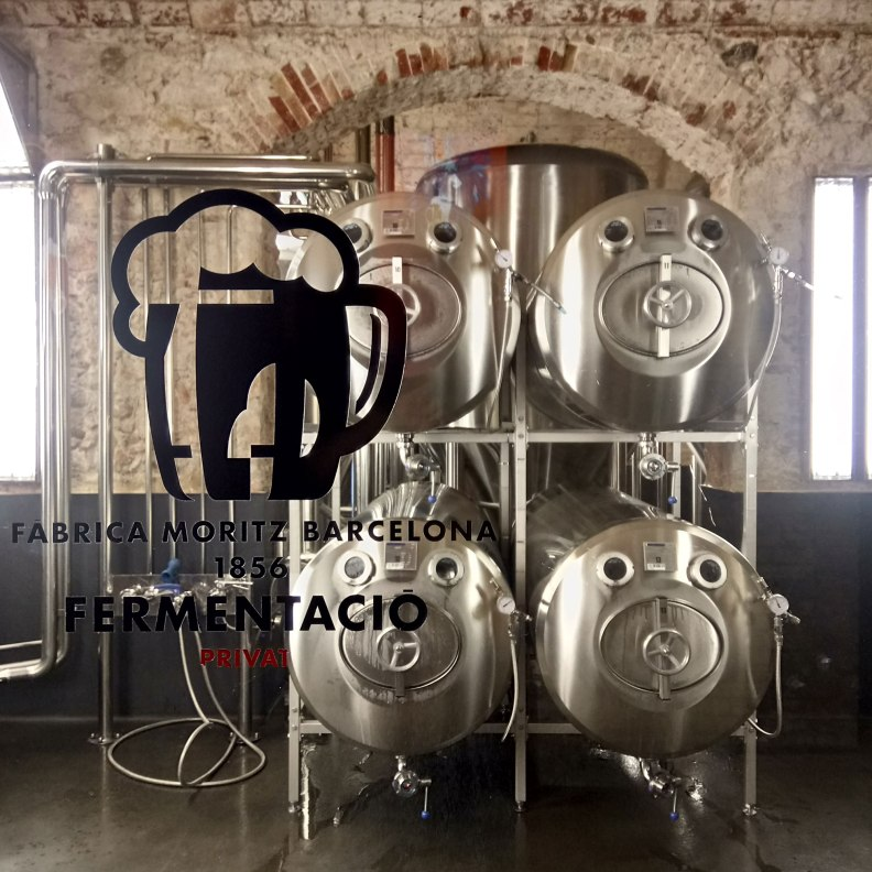 Jean Nouvel Fabrica Moritz microbrewery beer tanks