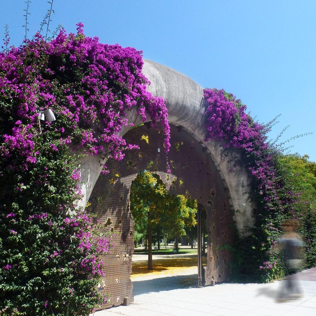 Jean Nouvel Parc del Poblenou entrance Barcelona
