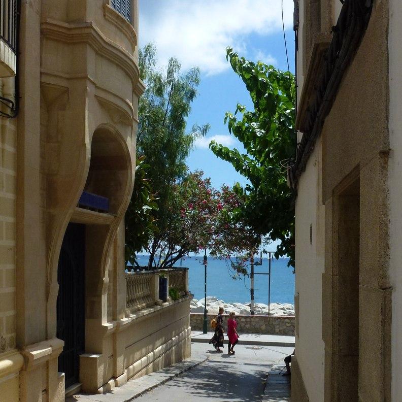 Sant Pol de Mar street