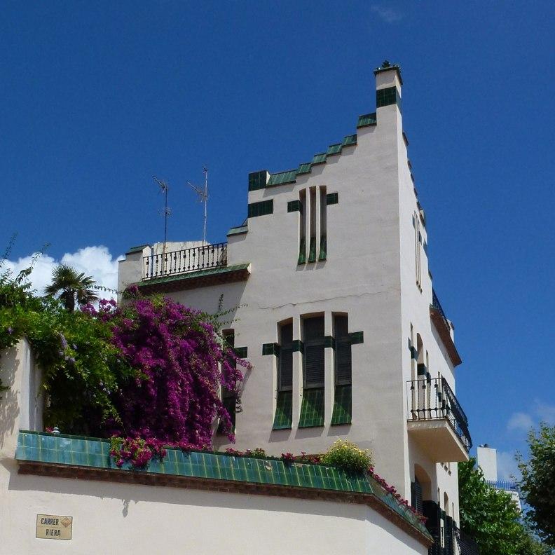 Sant Pol de Mar Casa Doctor Roura Modernist design