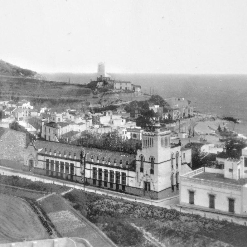 Sant Pol de Mar historical photo school
