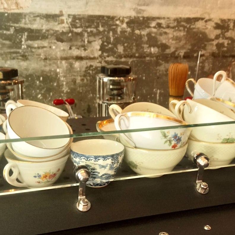 Camelia Art Cafe coffee cups