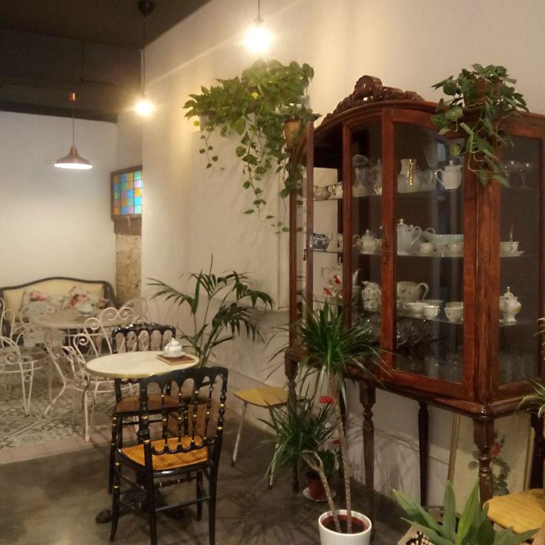 Camelia Art Cafe interior